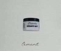 Kalkkimaali - Sementinharmaa - Cement - Versante Matt - 125 ml