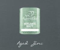 Kalkkimaali - Sinkinharmaa - Aged Zinc - Versante Matt - 500 ml