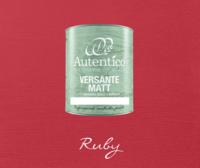 Kalkkimaali - Rubiininpunainen - Ruby - Versante Matt - 500 ml