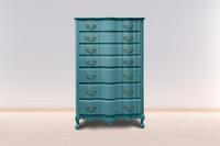 *Kalkkimaali - Antiikinturkoosi - Antique Turquoise - Versante Matt - 500 ml