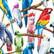 Decoupage-arkkisetti - Birds - Belles and Whistles