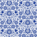 Decoupage-arkkisetti - Blue Glass Ornate - Belles and Whistles