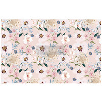 Decoupage-arkki - 48x76 cm - Blush Floral - Prima Redesign Tissue Paper