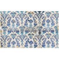 Decoupage-arkki - 48x76 cm - Cobalt Flourish - Prima Redesign Tissue Paper