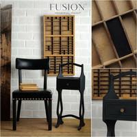 Fusion Mineral Paint - Coal Black - Musta - 37 ml