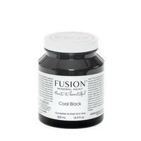 Fusion Mineral Paint - Coal Black - Musta - 500 ml