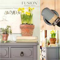 Fusion Mineral Paint - Soap Stone - Vuolukivenharmaa - 500 ml
