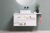 Siirtokuva - 45x30 cm - Garden Marvels - Prima Redesign Decor Transfer