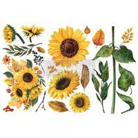 Siirtokuva - 45x30 cm - Sunflower Afternoon - Prima Redesign Decor Transfer