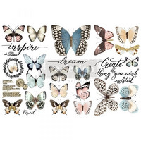Siirtokuva - 45x30 cm - Papillon Collection - Prima Redesign Decor Transfer
