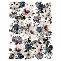 Siirtokuva - 60 x 88 cm - Dark Floral - Prima Redesign Decor Transfer