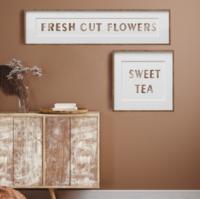 Leimasinsetti - 30x30 cm - Prima Re-design Decor Stamp - Sweet Tea