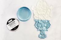 Akryylimaali - Re-Design with Prima - Rare Aqua Metallic Sheen Paint