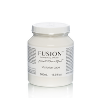 Fusion Mineral Paint - Victorian Lace - Pitsinvalkoinen  - 500 ml