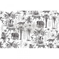 Decoupage-arkki - 48x76 cm - Wild Savanna Re-Design Prima Tissue Paper