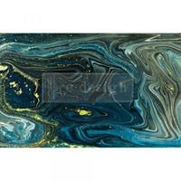 Decoupage-arkki - 48x76 cm - Nocturnal Marble Re-Design Prima Tissue Paper