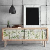 Decoupage-arkki - 48x76 cm -Greenery Re-Design Prima Tissue Paper