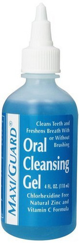 MAXI/GUARD® Oral Cleansing Gel ongelmaisen suun hoitoon