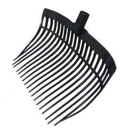Talikon pää musta, shavings fork