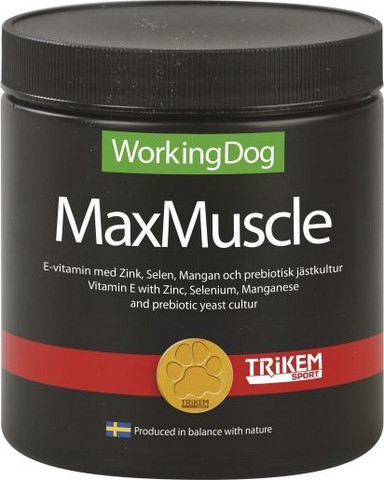 WorkingDog MaxMuscle 600g