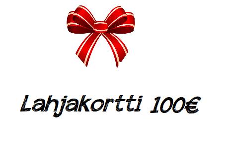 Lahjakortti 100€
