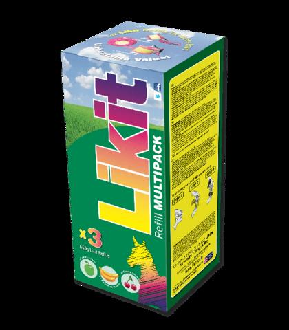 Likit Multipack 3x650g
