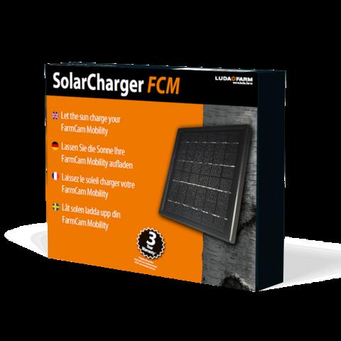 SolarCharger FCM (aurinkopaneeli FarmCam Mobilityyn)