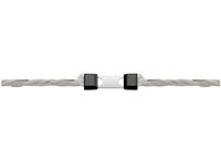 Jatkolukko köydelle (enintään 6 mm), Litzclip, ruostumaton, 5 kpl/pkt