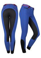 Ratsastushousut Lisa kokopaikoilla, royal blue