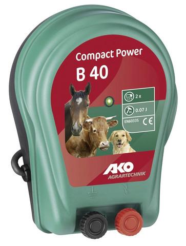 Akkupaimen, AKO Compact Power B 40, 9V