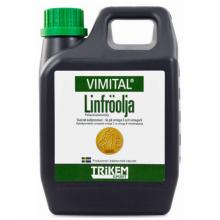 Linfröolja - Pellavaöljy 1l