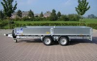 Ifor Williams LM 126 Lavettitraileri