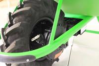 Sähkökäyttöinen Yksi-pyöräinen kottikärry Moto-200l