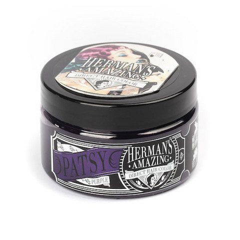 Herman's Amazing Direct Hair Color -shokkihiusväri/suoraväri Patsy Purple - violetti 115ml