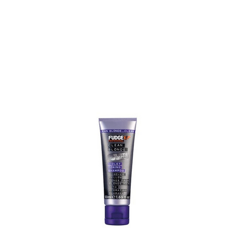 Fudge Clean Blonde Violet Toning Shampoo -hopeashampoo 50ml