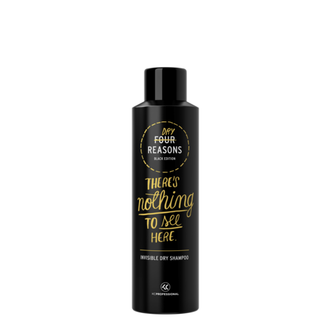 Four Reasons Black Edition Invisible Dry Shampoo -kuivashampoo 250ml