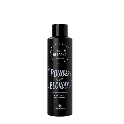 Four Reasons Black Edition Visible Silver Dry Shampoo -hopeanhohtoinen  hiuspuuteri 250ml bc468ea831