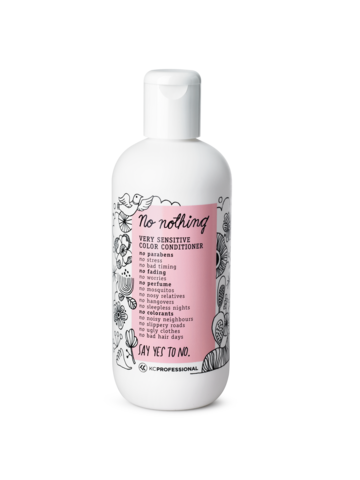 No nothing Very Sensitive Color Conditioner -väriä suojaava hoitoaine 300ml