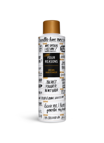 Four Reasons Hair Powder Brown -ruskea suihkutettava hiuspuuteri 250ml