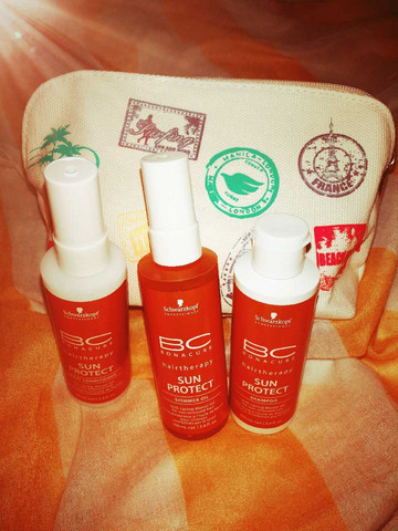 BC Sun Protect Travel Kit -UV-suojasetti 100ml+100ml+100ml