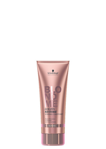 BlondMe Keratin Restore Bonding Conditioner All Blondes -hoitoaine vaaleille hiuksille 200ml