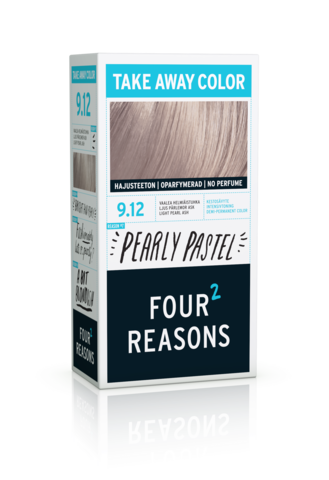 Four Reasons Take Away Color -kevytväri 9.12 Pearly Pastel - vaalea helmiäistuhka