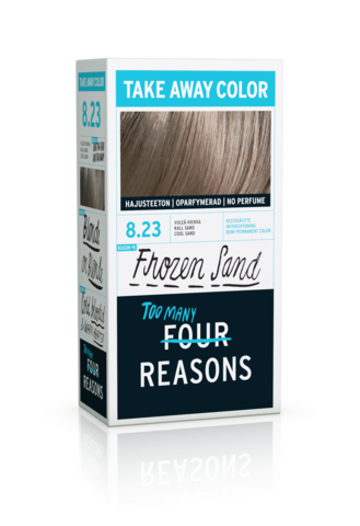 Four Reasons Take Away Color -kevytväri 8.23 Frozen Sand - viileä hiekka