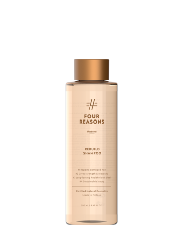 Four Reasons Nature Rebuild Shampoo -korjaava shampoo 250ml