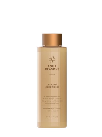 Four Reasons Nature Rebuild Conditioner -korjaava hoitoaine 250ml