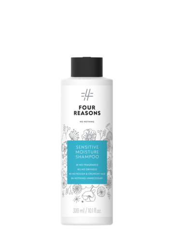 Four Reasons No Nothing Sensitive Moisture Shampoo -kosteuttava shampoo 300ml