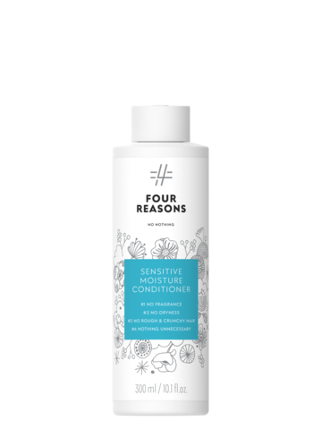 Four Reasons No Nothing Sensitive Moisture Conditioner -kosteuttava hajusteeton hoitoaine 300ml