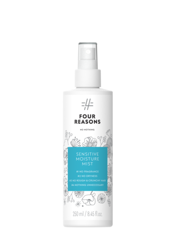 Four Reasons No Nothing Sensitive Moisture Mist -kosteuttava hajusteeton hoitosuihke 250ml