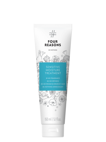 Four Reasons No Nothing Sensitive Moisture Treatment -kosteuttava hajusteeton tehohoito 150ml