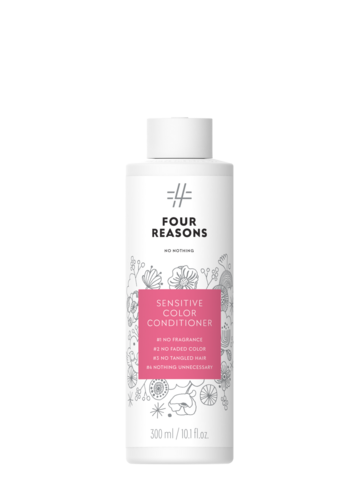 Four Reasons No Nothing Sensitive Color Conditioner -väriä suojaava hajusteeton hoitoaine 300ml